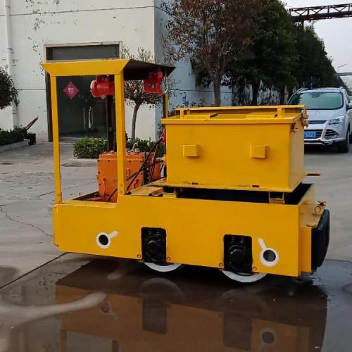 国标型2.5吨蓄电池电机车 煤安证矿安证齐全