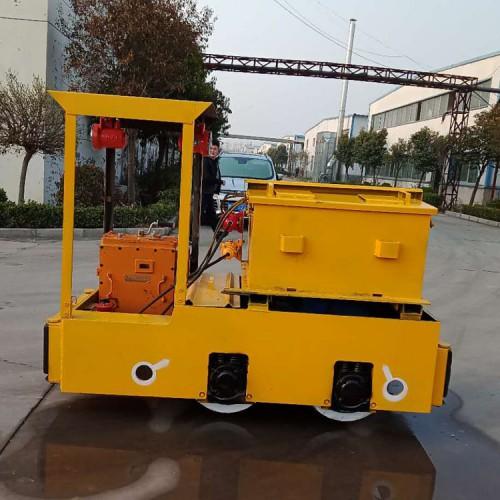 2.5吨国标电动牵引机车 煤矿防爆电机车