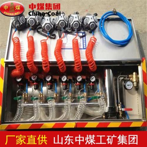 箱式压风供水自救装置 氧气自救器 箱式压风供水自救装置