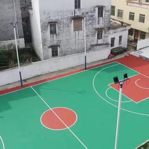 篮球场厂家
