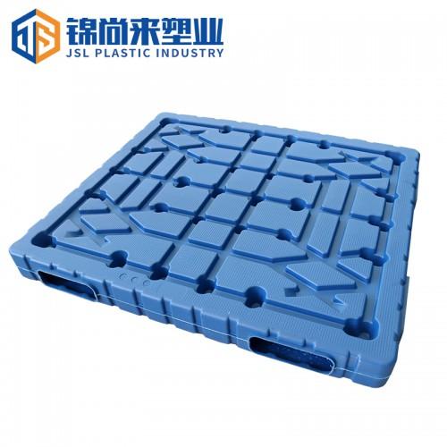 塑料卡板 江苏锦尚来重型加厚1513双面蓝色吹塑卡板 现货