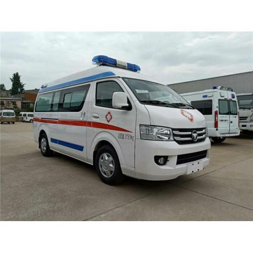 运送病人国六排放乡镇急救车参考价格