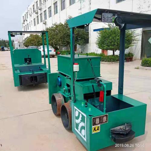 矿井2吨蓄电池电机车 小型电动牵引机车