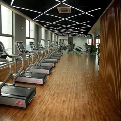 健身馆木地板