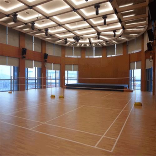 羽毛球馆木地板 体育运动地板