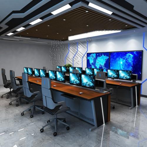 广东制造非标调度控制台指挥中心指挥操作台调度桌高端定制