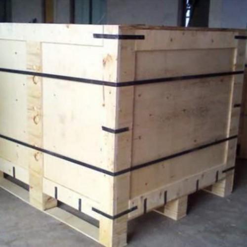 定制钢带木箱