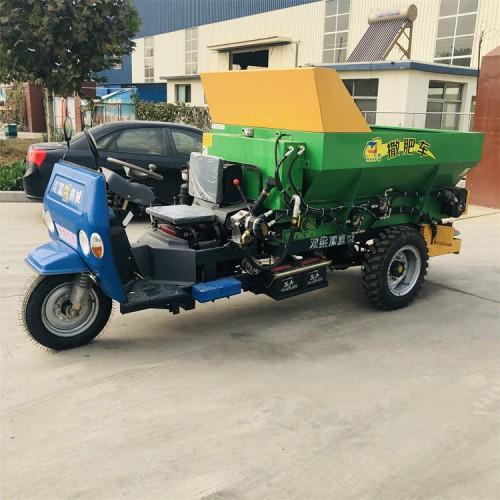 有机肥施肥机 大棚粪肥撒肥车