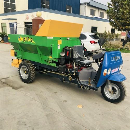 农家肥施肥机 大棚施肥车
