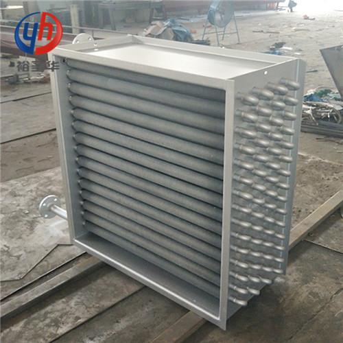 SRZ10*6X钢制翅片管对流散热器厂家