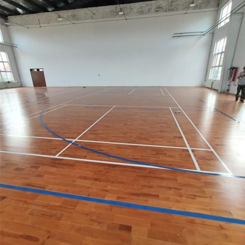 篮球场实木地板  运动木地板 纯实木运动木地板