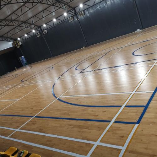 篮球馆实木地板 体育实木地板厂家