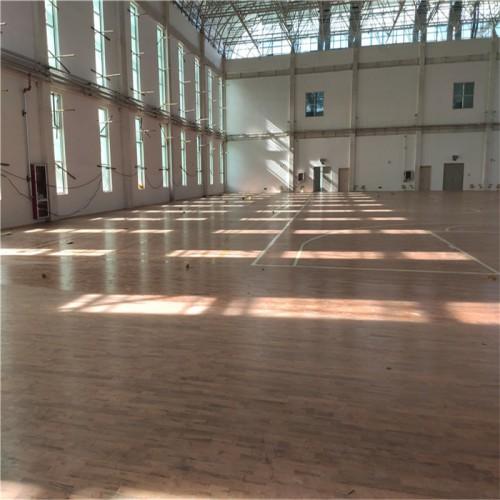 企口硬木地板 全民健身中心木地板