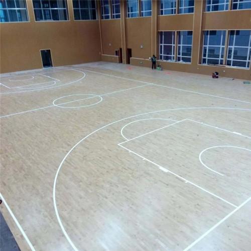 枫桦木运动地板 运动地板厂家