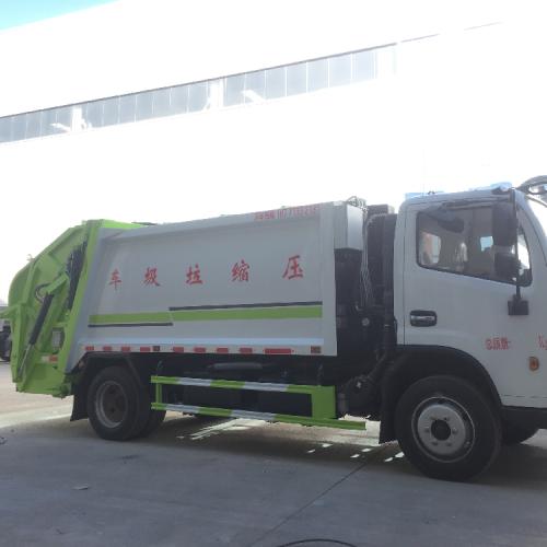 东风 8方压缩垃圾车 后装垃圾压缩车5吨垃圾车厂家售车