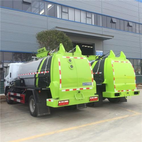 东风 6方餐厨垃圾车 程力8方厨余垃圾 街道泔水垃圾车酒店