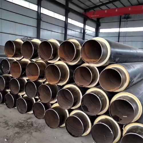 聚氨酯直埋保温管 聚氨酯保温钢管厂家