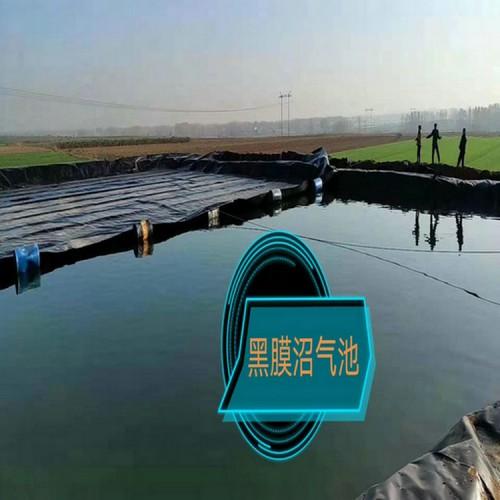 三元电厂原水调节池用1.5mm防渗膜 2.0mmHDPE土工膜经久耐用