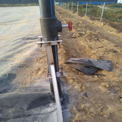 江西畜牧业沼气池单糙面HDPE土工膜 河道防渗膜 耐酸碱HDPE防渗膜