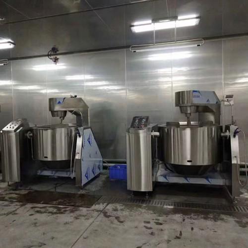 食品厂大型自动炒锅