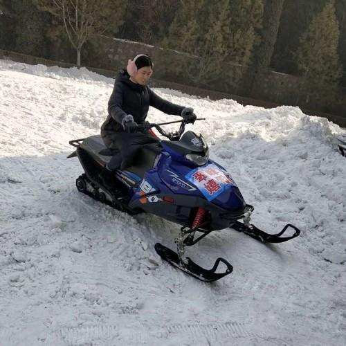 雪地摩托车 游乐雪地摩托车 滑雪场雪地摩托