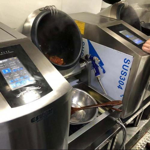 全自动炒干锅机 自动炒菜机 炒香辣虾鸭掌翼牛蛙