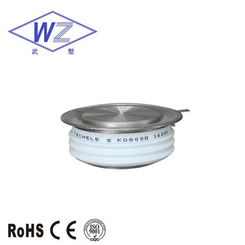高频晶闸管 KG800A800V 平板式可控硅 适用于逆变器