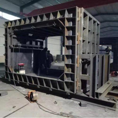 双仓箱涵模具 综合箱涵管廊模具 水泥箱涵模具