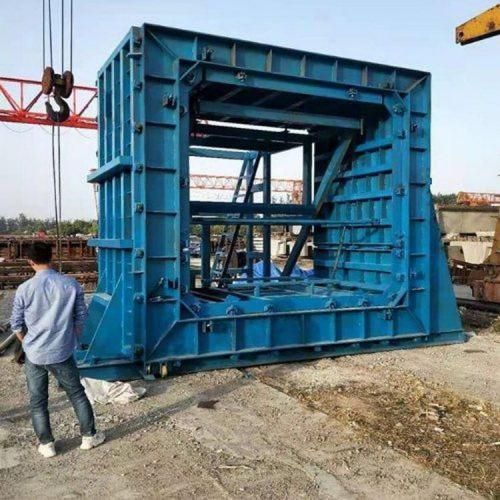 预制箱涵模具 箱涵钢模具 单仓箱涵模具