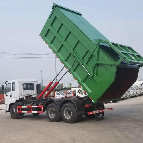 钩臂式垃圾车 拉臂式垃圾车