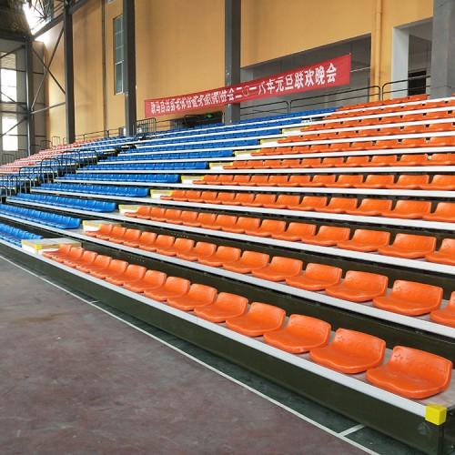 体育场伸缩看台 移动看台 看台座椅低靠背座椅