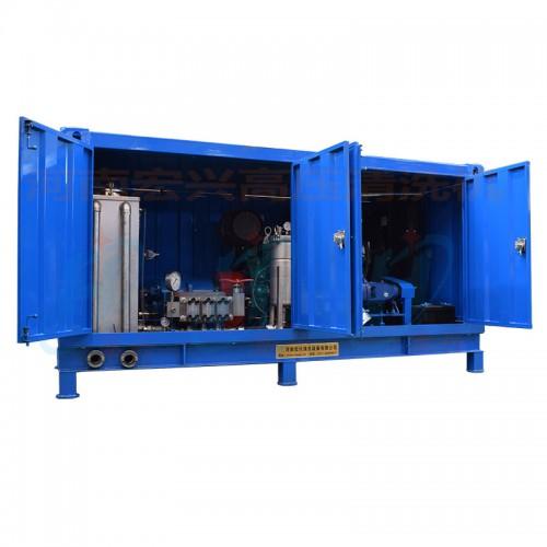 蒸汽换热器清洗机 宏兴高压清洗机 HX-80150型清洗机