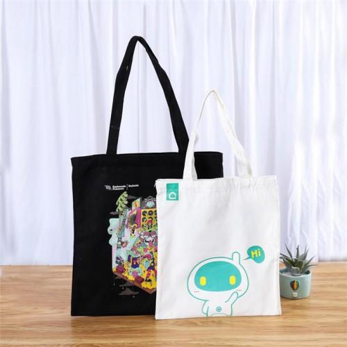 彩印单肩环保购物帆布包 广告购物棉布袋 棉布手提帆布袋彩色