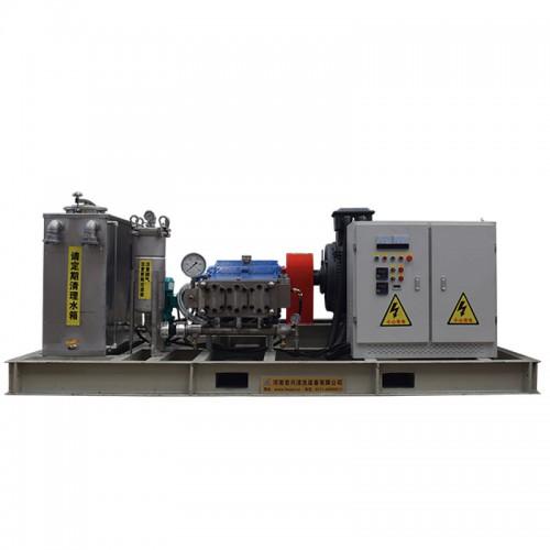 管式换热器水垢清洗机 工业管束超高压清洗机