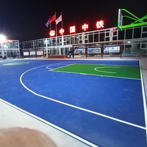 球场地坪 丙烯酸球场地坪 体育球场地坪