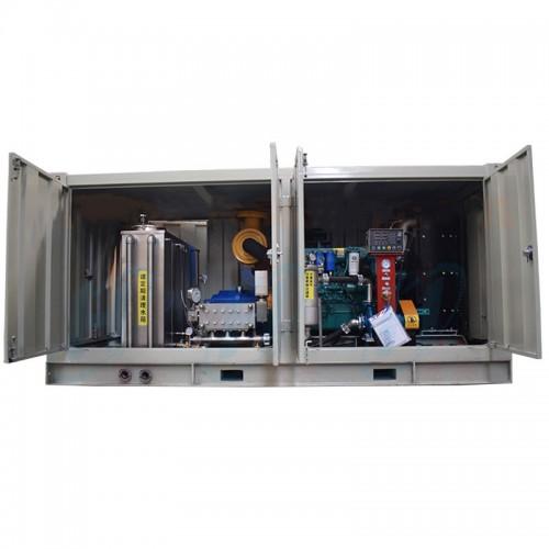蒸发器列管高压清洗机 1400公斤硬质合金材质高压泵清洗机