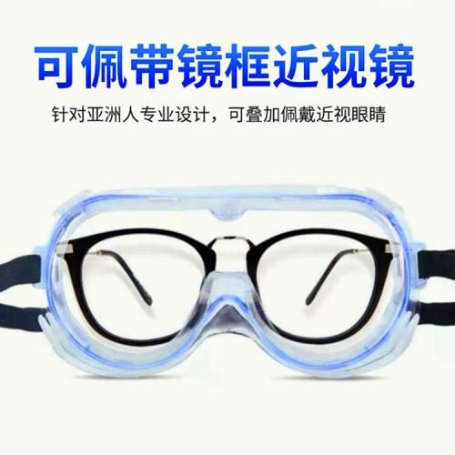 医用隔离眼罩厂家 医用护目镜厂家批发 有效防飞沫可出口