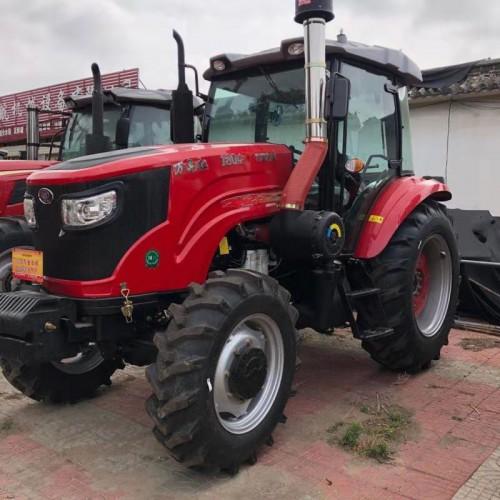 厂家供应万年红1804大型拖拉机 多功能四驱六缸耕地犁地机