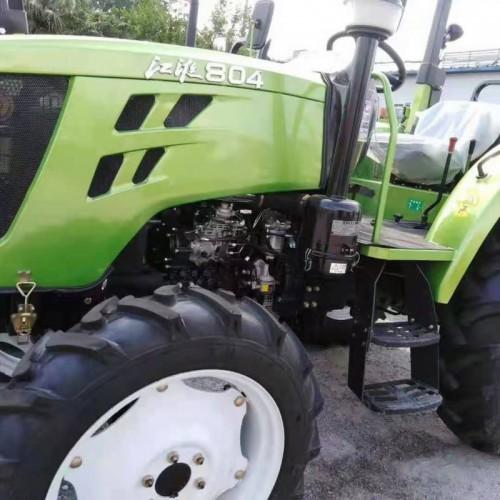 厂家直供江淮804农用四轮拖拉机 多功能四驱耕地犁地机