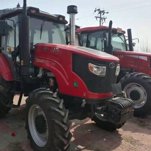万年红1804大型拖拉机 农用四驱六缸耕地犁地机 现货