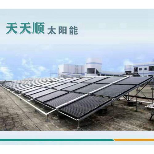 太阳能集热器系统 太阳能热水工程厂家