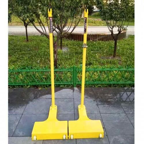 厂家供应羽毛球柱铸铁式羽毛球柱比赛羽毛球柱