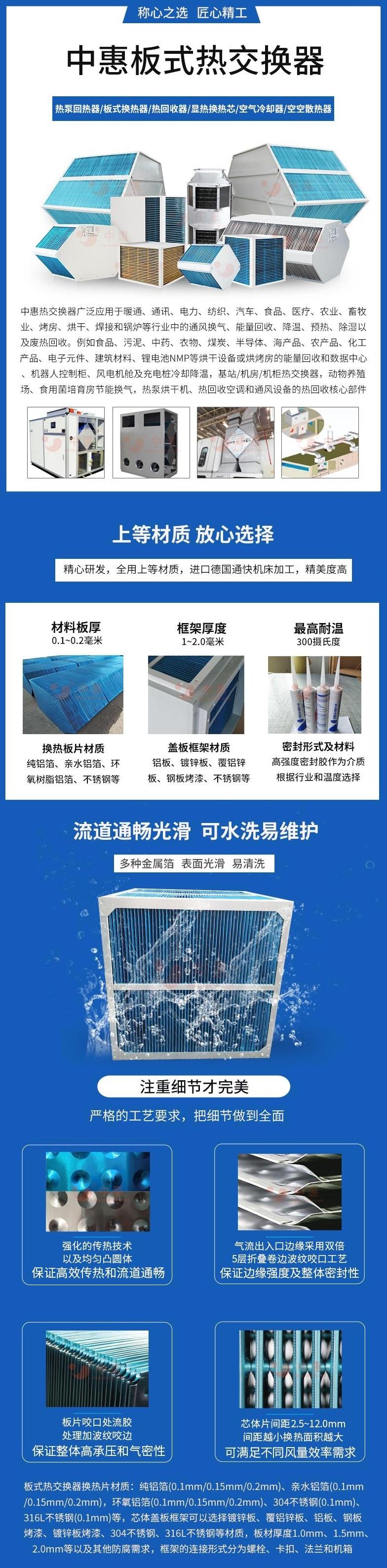 中惠板式热交换器详情页1