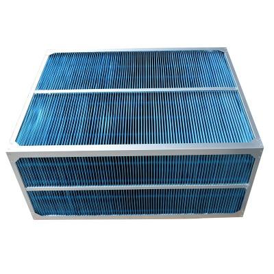 净化空调新风系统热交换热器