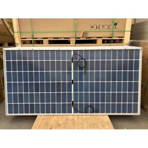 隆基光伏组件发电系统光伏板双面双玻