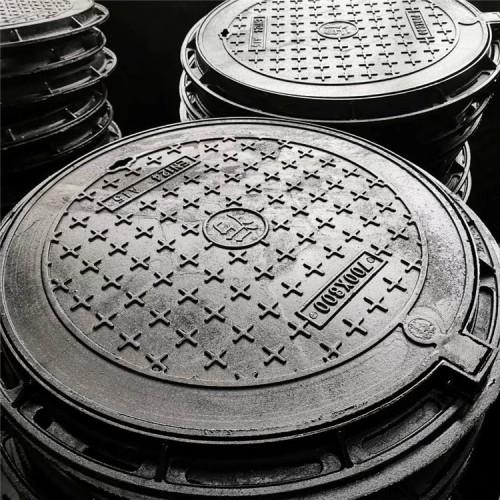 球墨铸铁井盖厂家直销 重型球墨铸铁井盖 轻型球墨铸铁井盖