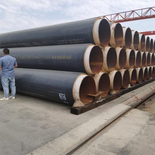 DN900直埋保温钢管 聚氨酯发泡保温管道 聚乙烯外护保温管