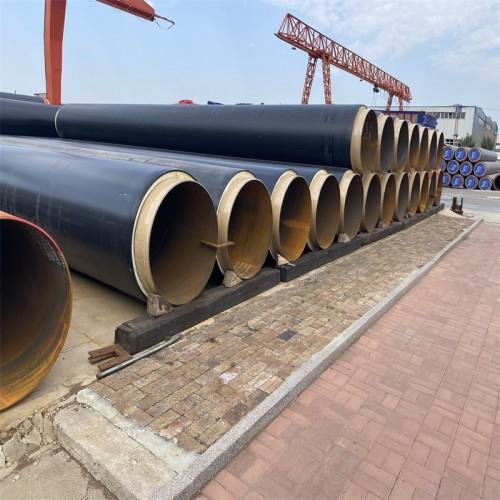 DN1000直埋保温钢管 聚氨酯发泡保温管道 预制保温管厂家