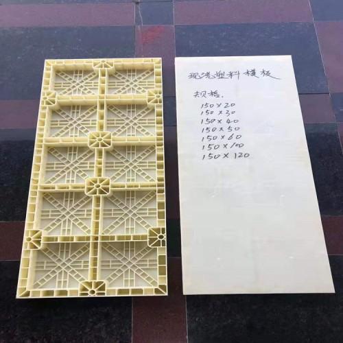 塑料模板 塑料现浇模板规格 水沟现浇塑料模板厂家批发繁盛模具